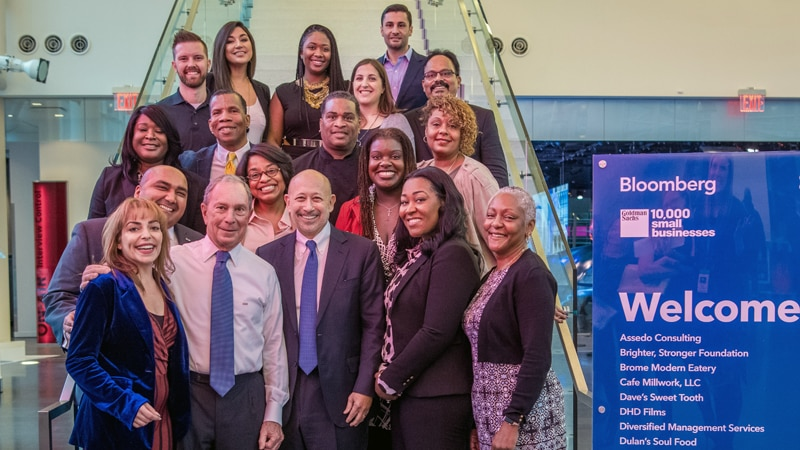 Fifth Annual '10,000 Small Businesses' Coaching Session with Bloomberg L.P.