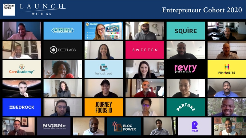 Reflecting on the <i>Launch With GS</i> 2020 Black and Latinx Entrepreneur Cohort